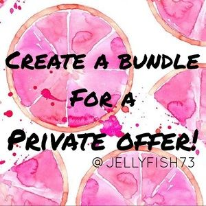 Create a bundle for a private offer!